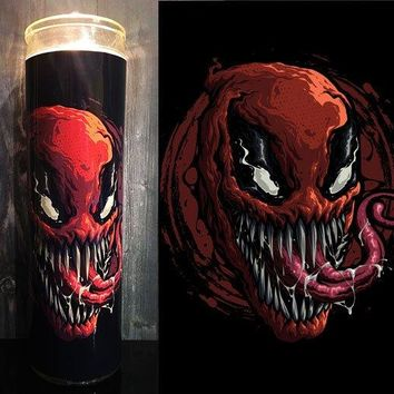 Deadpool, Venom, Marvel,  Home Decor, Scented  Candle, Prayer Candle, Candle, Gift Idea,
