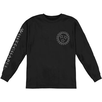 Whitechapel Men's  Dagger Snake  Long Sleeve Black