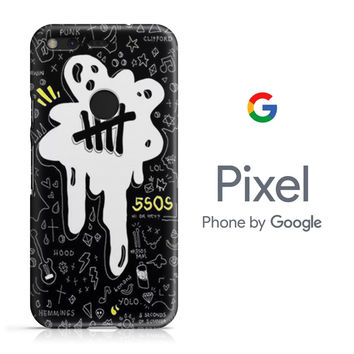 5SOS Melting Google Pixel Phone 3D Case