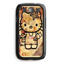 Obey Hello Kitty Samsung Galaxy S3 Case