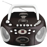 Jensen Portable Stereo Cd Player With Cassette & Am And Fm Radio