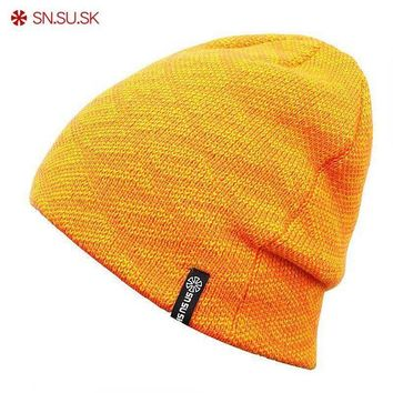 ac NOOW2 SN.SU.SK Brand 9 Color New Unisex Famous Man Women Warm Winter Knitted Knitting Sports Ski Hat Beanies Turtleneck Cap