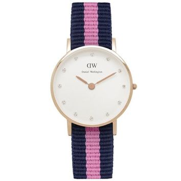 Women's Classy Winchester Watch in Rose Gold by Daniel Wellington