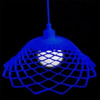 Modern Silica Gel Net Model Lamp Blue - Wonderful Lights