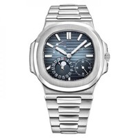 PATEK PHILIPPE NAUTILUS 40MM STAINLESS STEEL WATCH 5712/1A-001 UNWORN