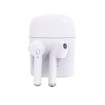 Stylish Bluetooth Headphones Wireless Earbuds Stereo Earphone Cordless Sport Headsets for Iphone AirPods iphone 8, 8 plus, X, 7, 7 plus, 6s, 6S Plus with Charging Case I