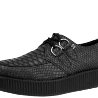 Vegan Embossed Creepers
