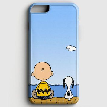 Snoopy And Charlie Brown iPhone 6 Plus/6S Plus Case