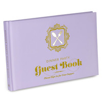 Knock Knock Dinner Party Guest Book - Official Shop