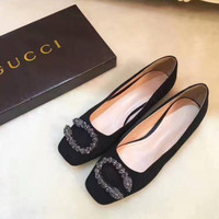 Fashion gucci flat soles Sandals shoes H-ALXY