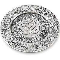 OM Pillar Candle Holder - Recycled Aluminum