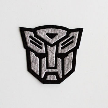 Transformer... Iron On about 3  inches