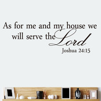 Bible Quote Wall Decals Stickers