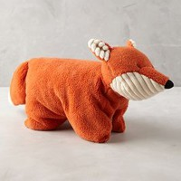 Forest Fox Stuffed Animal by Anthropologie in Orange Size: One Size House & Home