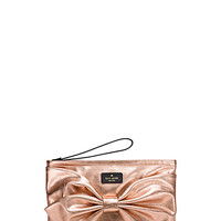 Kate Spade On Purpose Rose Gold Metallic Wristlet Rose Gold ONE