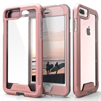 Zizo ION Series With Screen Protector Phone Case for Apple iPhone 6 7 8 Plus (5.5)