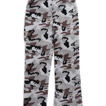 Calvin Klein Fleece Camouflage Sleep Pants