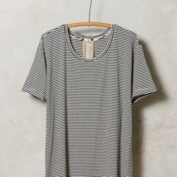 Threadstripe Tee by Dolan Left Coast Black & White