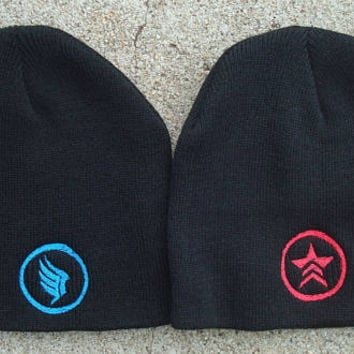 Paragon or Renegade Embroidered Beanies