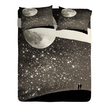 Shannon Clark Love Under The Stars Sheet Set Lightweight