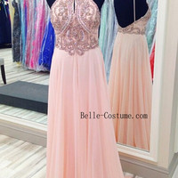 Custom-made Prom Dress, Prom Dress 2016, Backless Prom Dress, Backless Evening Dress