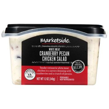 Marketside Cranberry Pecan Chicken Salad, 12 oz - Walmart.com