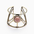 Free People Womens Caged Cuff Ring