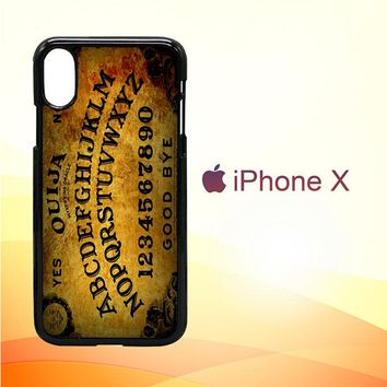 Ouija Board L2199 iPhone X Case