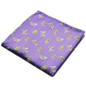 Butterfly Pocket Square