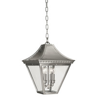 Robert Abbey, Charleston Pendant, Satin Nickel, Pendants