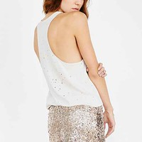 Love Sadie Sequin Mini Skirt-
