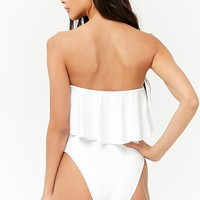 Flounce One-Piece Swimsuit