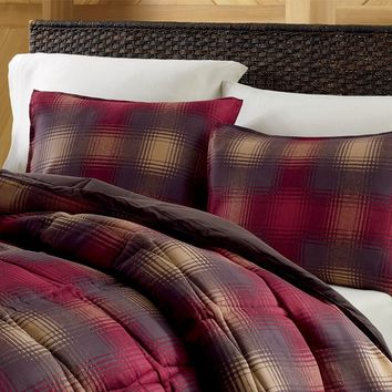 Eddie Bauer Nordic Plaid Down-Alternative Comforter Set
