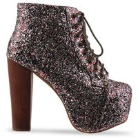 Jeffrey Campbell Lita in Multi Glitter at Solestruck.com