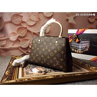 LV Louis Vuitton MONOGRAM CANVAS SMALL MONTAIGNE BB HANDBAG SHOULDER BAG