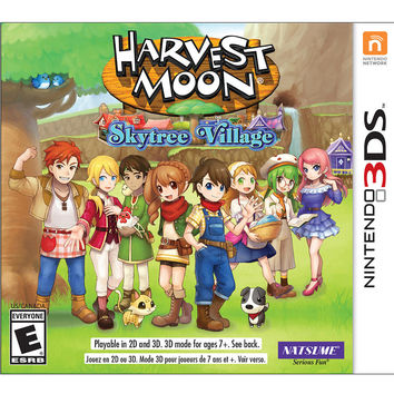 Harvest Moon Skytree Village for Nintendo 3DS