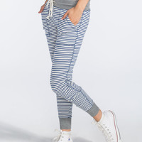 Billabong Down Softly Womens Sweatpants Blue  In Sizes