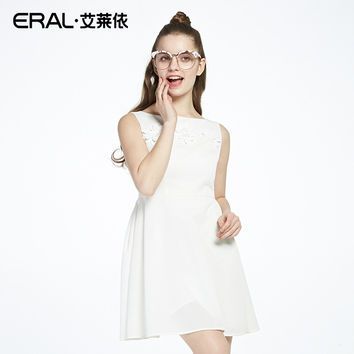ERAL   Arrival  Solid Dress Party Dress For Female A-Line Fashion Cute Clothes Formal Dress ERAL36443-FXAA