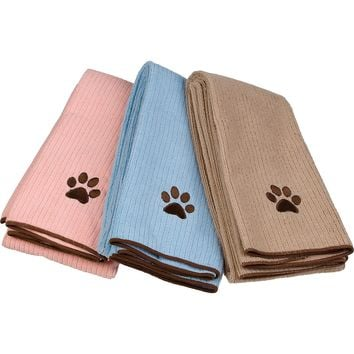 Dogs Unleashed Microfiber Pet Towel