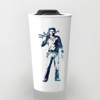 Nathan Drake Travel Mug by naumovski