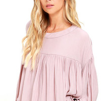 Prevailing Winds Mauve Top