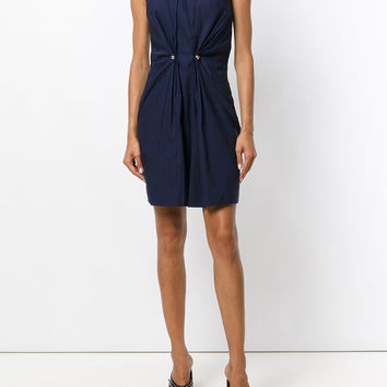 Carven Front Gather Detail Sheath Dress - Farfetch