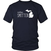 State T Shirt - Michigan Mitten Smitten