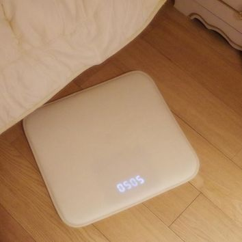 Pressure Sensitive Rug Alarm Clock