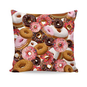 ROCP Donuts Couch Pillow
