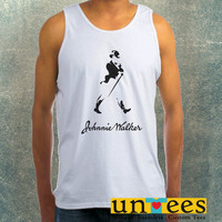 Johnnie Walker Logo Clothing Tank Top For Mens