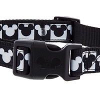 Disney ParksTails Mickey Checkered Dog Collar Small New with Tags