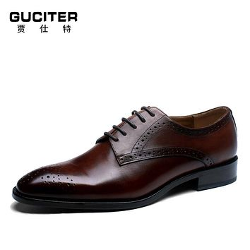 Fress Shipping Mens Handmade custom shoes Customized wipe color Goodyear leather shoe Bullock painted carved chinese factory