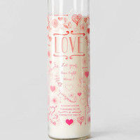 Love Prayer Candle