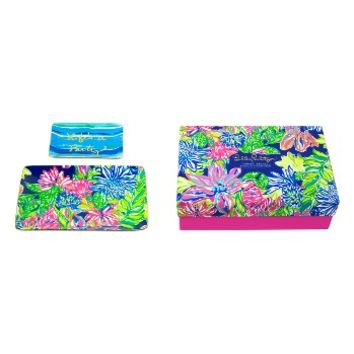 Lilly Pulitzer® Set of Two Ceramic Trinket Trays | Nordstrom